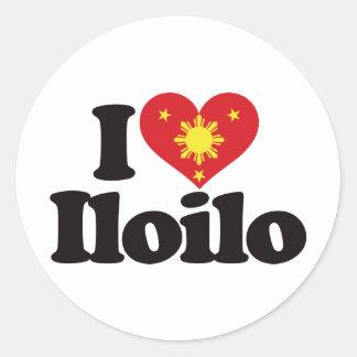 I Love Iloilo Classic Round Sticker