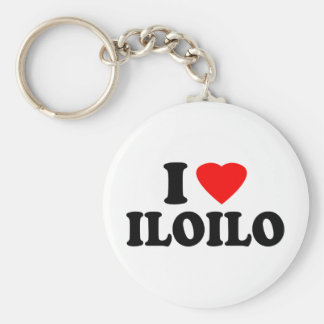I Love Iloilo Basic Round Button Keychain