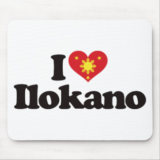 I Love Ilokano Mouse Pad