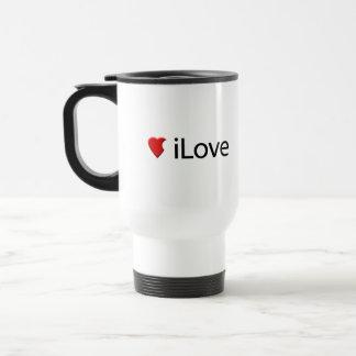 I Love (iLove) Coffee Mug