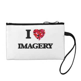 I Love Imagery Coin Purse