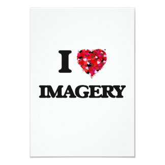 I Love Imagery 3.5x5 Paper Invitation Card