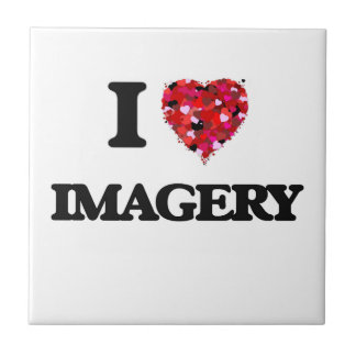 I Love Imagery Small Square Tile