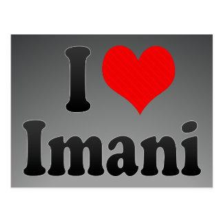 I love Imani Post Cards