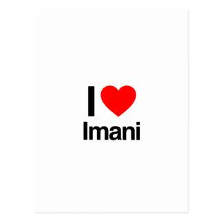 i love imani postcards