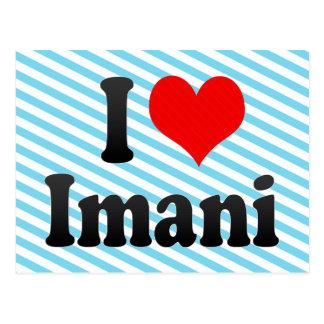 I love Imani Post Card