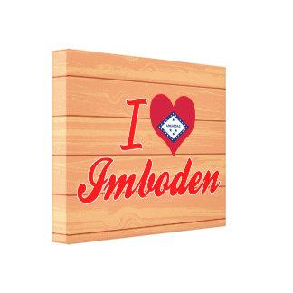 I Love Imboden, Arkansas Canvas Print