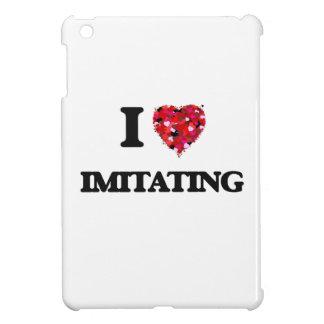I Love Imitating iPad Mini Cover