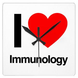 i love immunology wallclocks