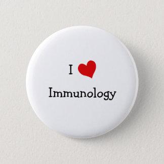 I Love Immunology Pinback Button