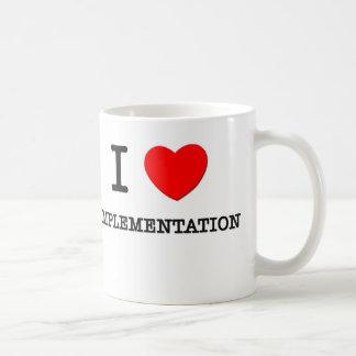 I Love Implementation Classic White Coffee Mug