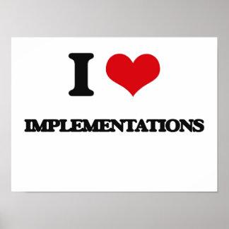I Love Implementations Print