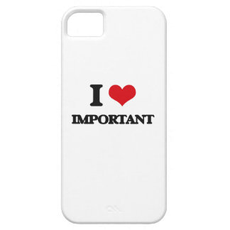 I Love Important iPhone 5 Cover
