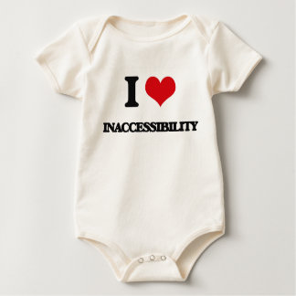 I Love Inaccessibility Bodysuits
