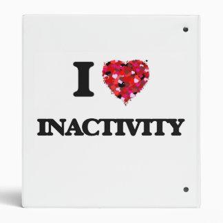 I Love Inactivity 3 Ring Binder