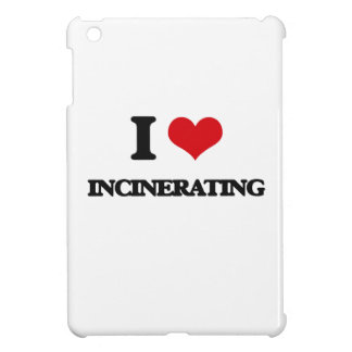 I Love Incinerating iPad Mini Cases