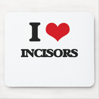 I Love Incisors Mouse Pad