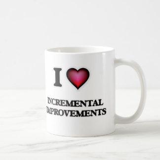 I Love Incremental Improvements Coffee Mug