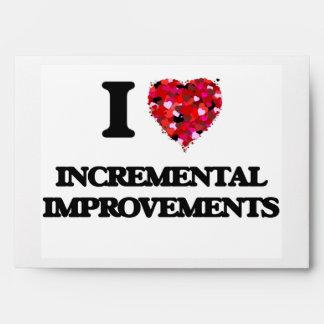 I Love Incremental Improvements Envelope