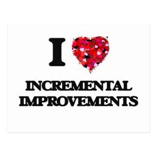 I Love Incremental Improvements Postcard