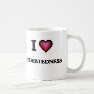 I Love Indebtedness Coffee Mug