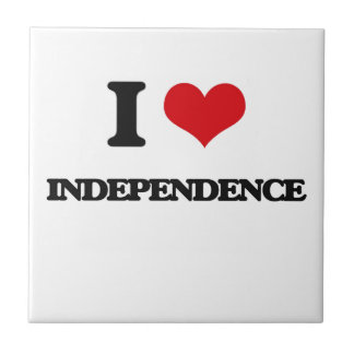 I love Independence Ceramic Tiles