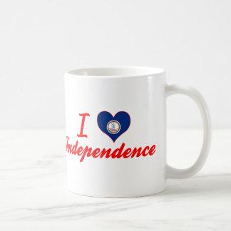 I Love Independence, Virginia Classic White Coffee Mug