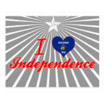 I Love Independence, Wisconsin Post Card