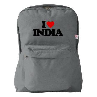 I LOVE INDIA AMERICAN APPAREL™ BACKPACK