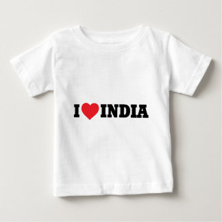 I love India Baby T-Shirt