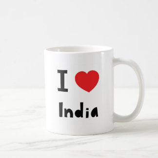 I love India Coffee Mug