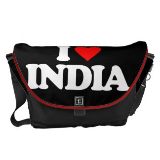 I LOVE INDIA COURIER BAG