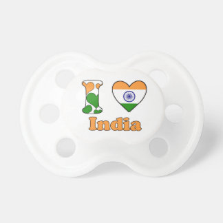 I love India Pacifier