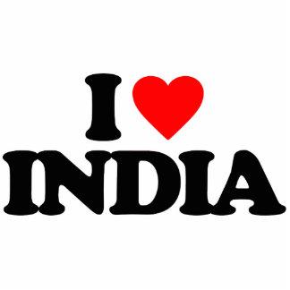 I LOVE INDIA CUT OUTS