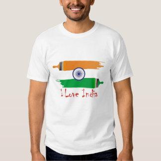 i love india t shirt