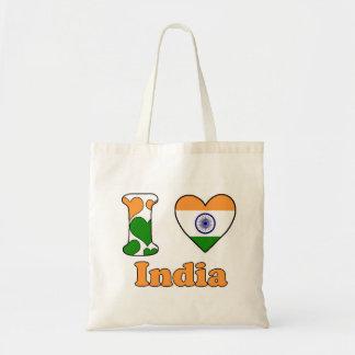 I love India Tote Bag