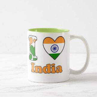I love India Two-Tone Coffee Mug