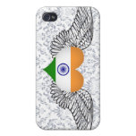 I Love India -wings Cases For iPhone 4