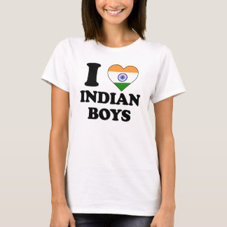 I love Indian Boys T-Shirt
