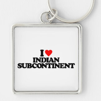 I LOVE INDIAN SUBCONTINENT KEY CHAIN