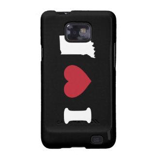 I Love Indiana Samsung Galaxy SII Case