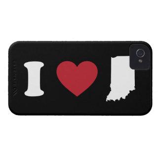 I Love Indiana iPhone 4 Case-Mate Cases