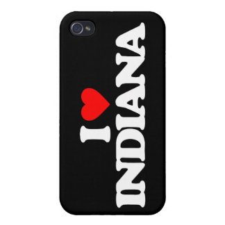 I LOVE INDIANA COVER FOR iPhone 4