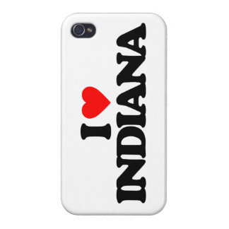 I LOVE INDIANA iPhone 4 COVER