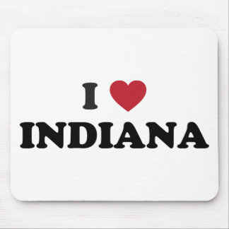 I Love Indiana Mouse Pad