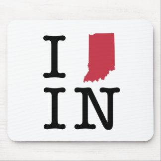 I Love Indiana Mousepads