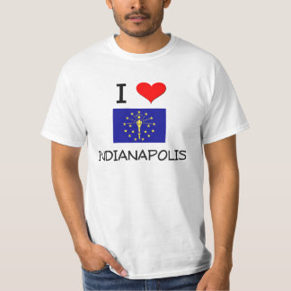 I Love INDIANAPOLIS Indiana T-Shirt
