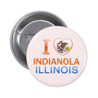 I Love Indianola, IL Button