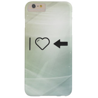 I Love Indicator Barely There iPhone 6 Plus Case