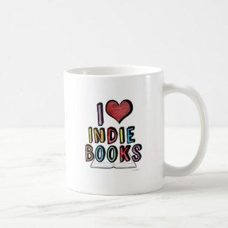 I Love Indie Books Coffee Mug